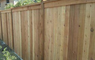 Decorative Cedar Fence