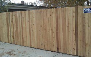 Standard Cedar Privacy Fence